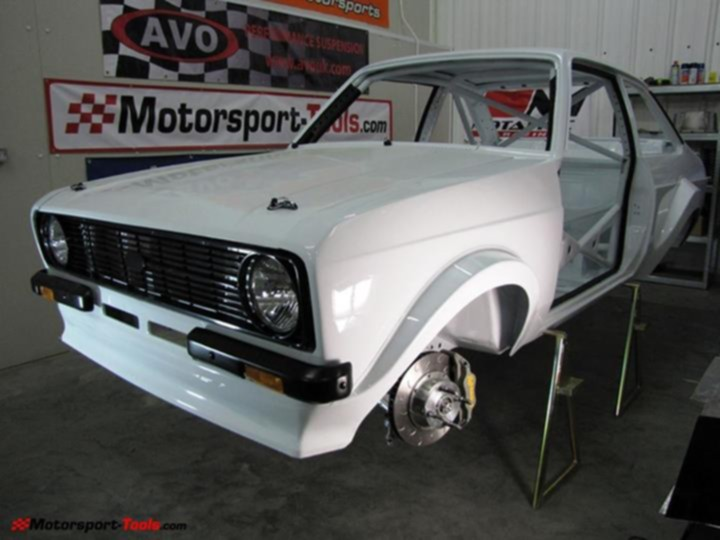 how to build a rally spec escort