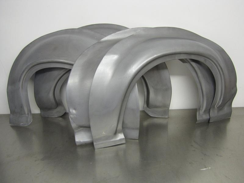 Ford Escort Mk1 Works Bubble Arches Steel Wide Arch Set