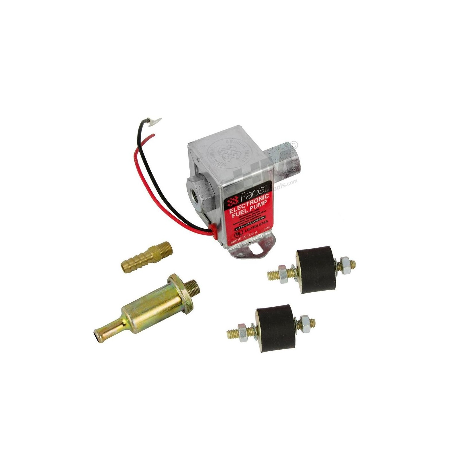 Facet Universal 12v Negative Earth Solid State Electronic//Electrical Fuel Pump