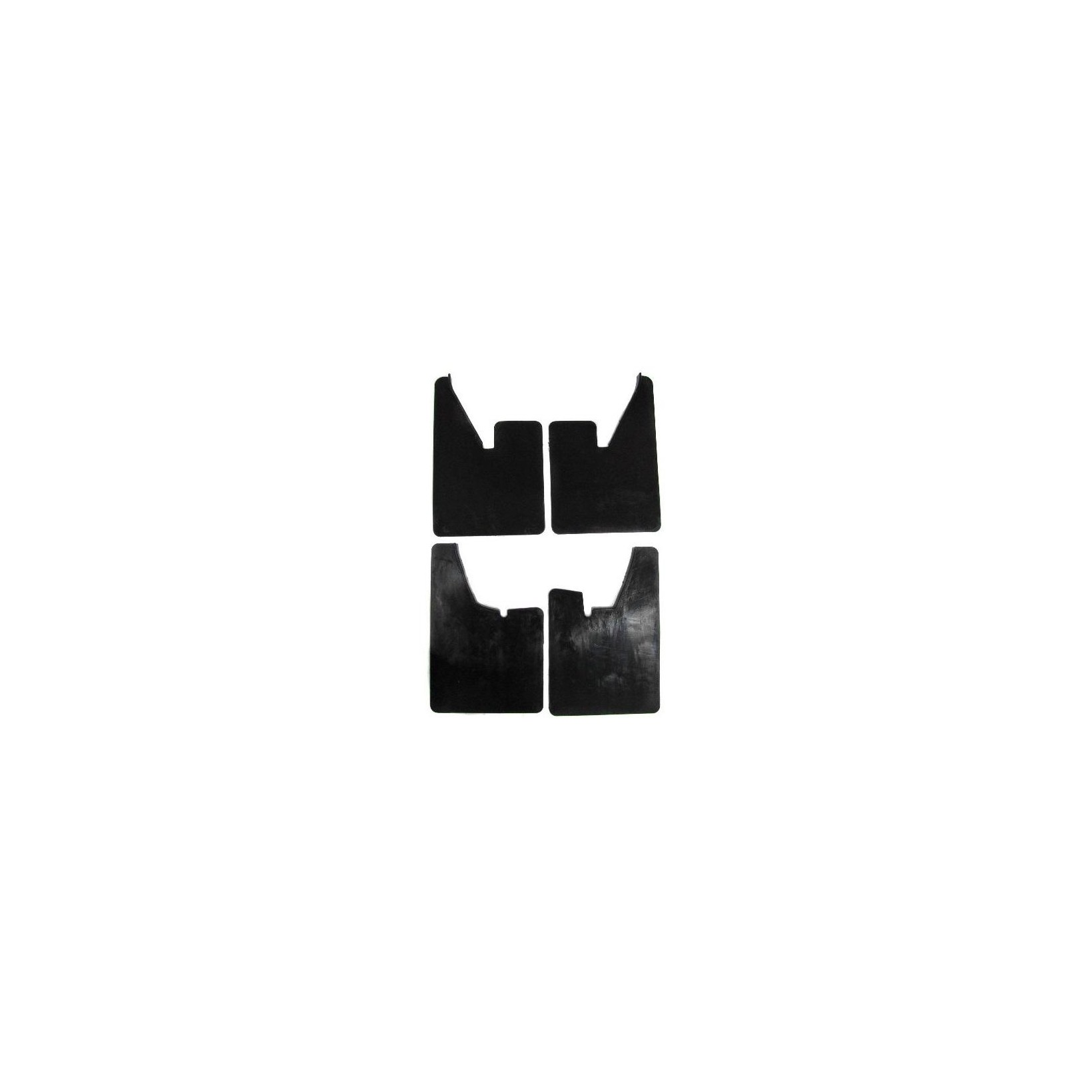 Race  Rally Motorsport Mudflaps 4mm Black Set Of 4 MSA Approved