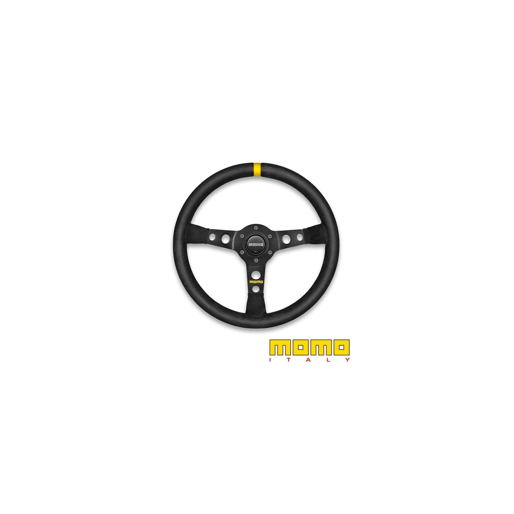 Momo Racing Steering Wheel Mod 07 Black Suede 350mm Motorsport Tools Com