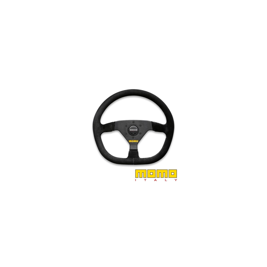 Momo Racing Steering Wheel Mod 88 Flat Bottom Black 320mm D Shape Motorsport Tools Com