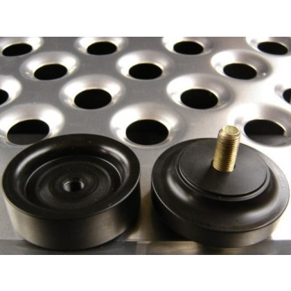 hole flare swage dimple tool sheet metal alloy