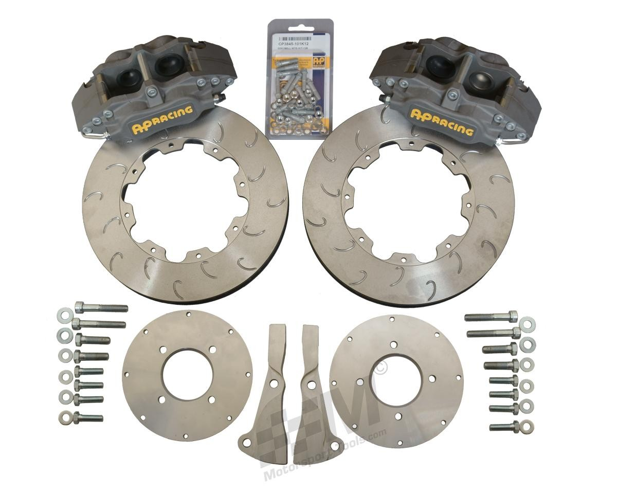 Escort Mk1 Mk2 AP 4 Pot Radial CP4567 Brake kit 277 x 25mm J-Hook - 13