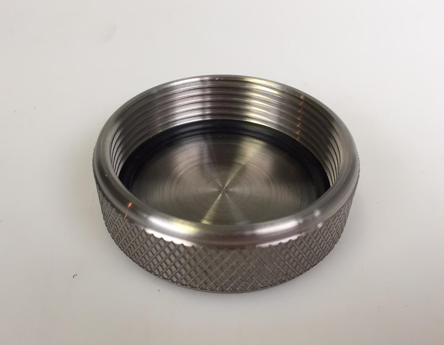 Knurled Stainless Steel Tank Cap Complete With Seal