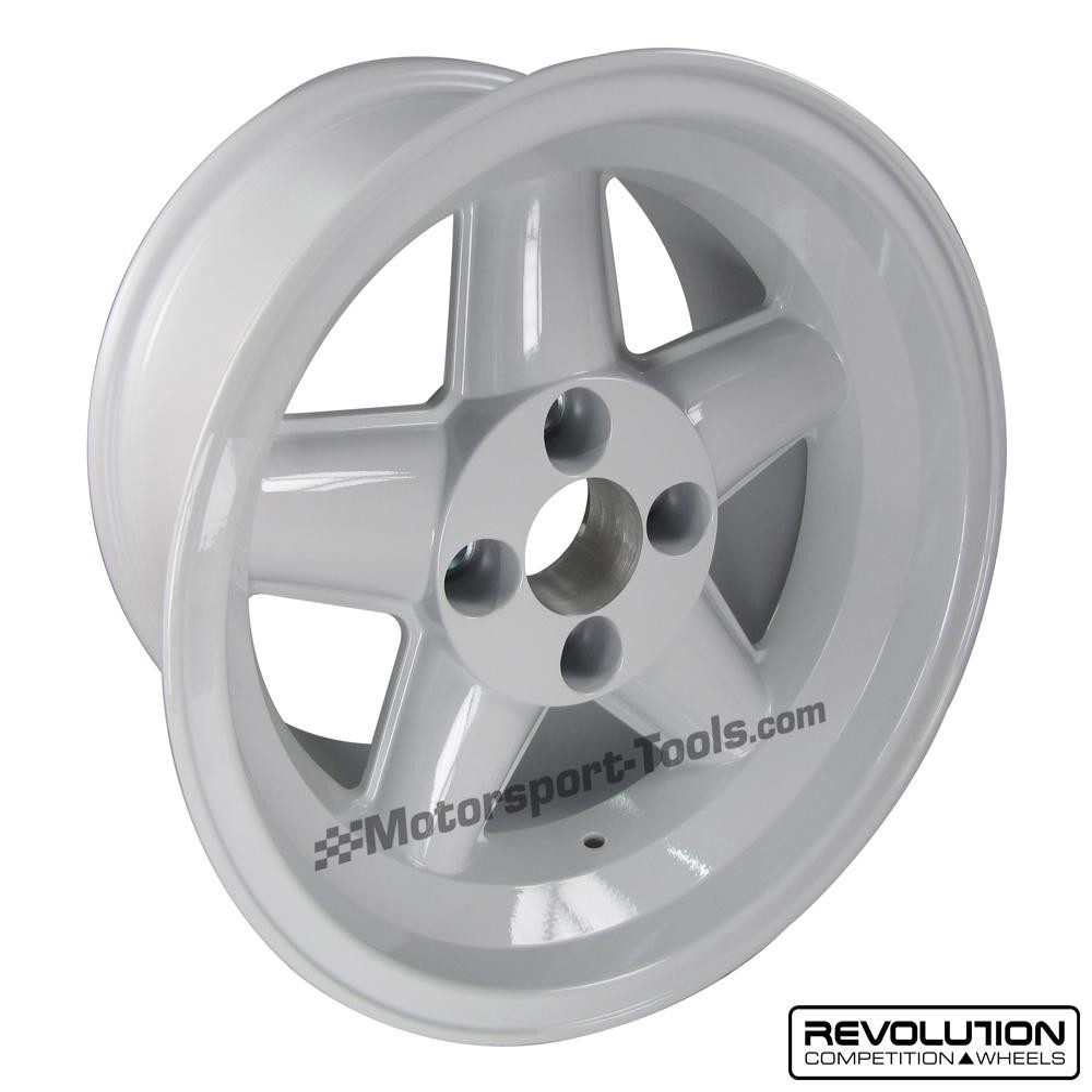 Revolution 5 Spoke Classic Rally Race Alloy Wheel 15 X 9