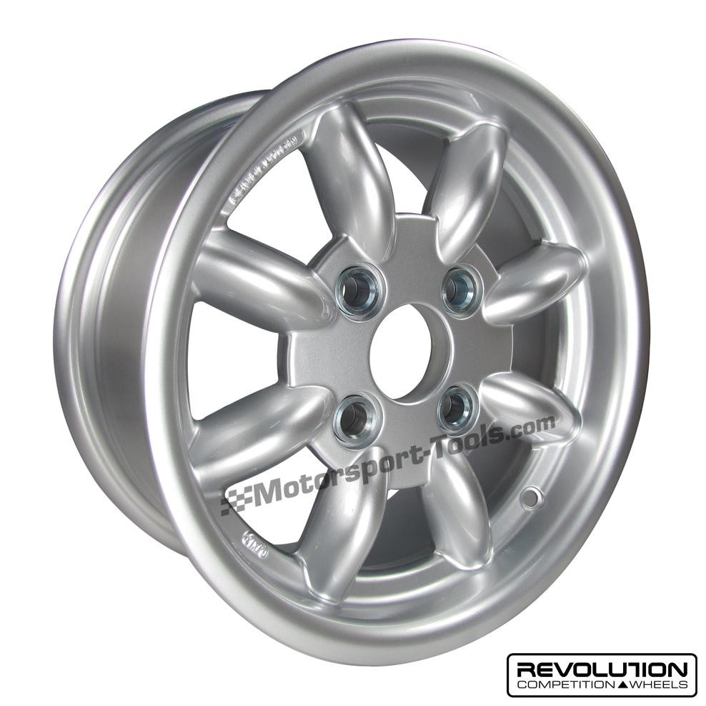 Revolution 8 Spoke Classic Rally Alloy Wheel 13 X 6 Escort